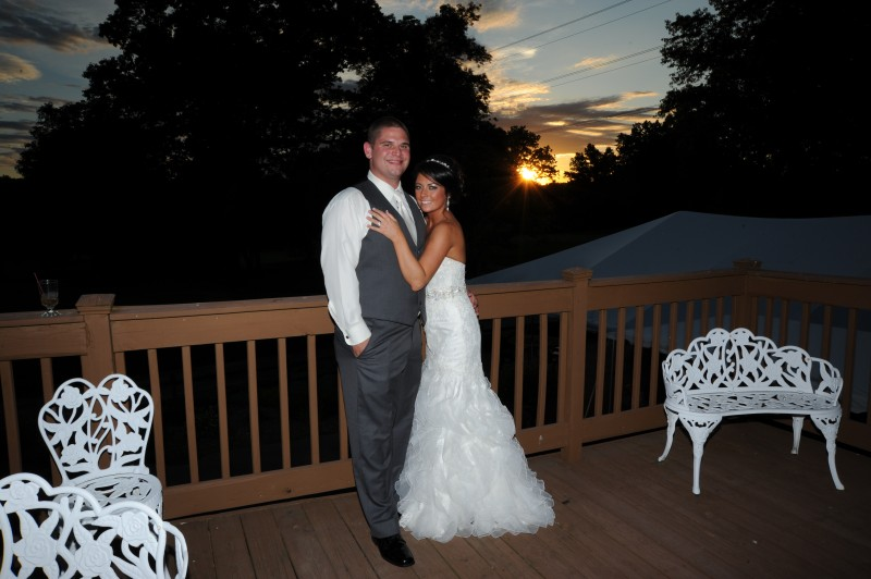 Oak Ridge Golf Club wedding photo