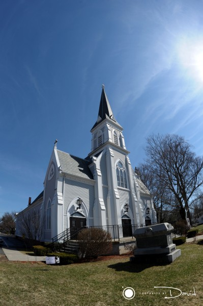 Annunciation Chapel Florence Massachusetts wedding photo