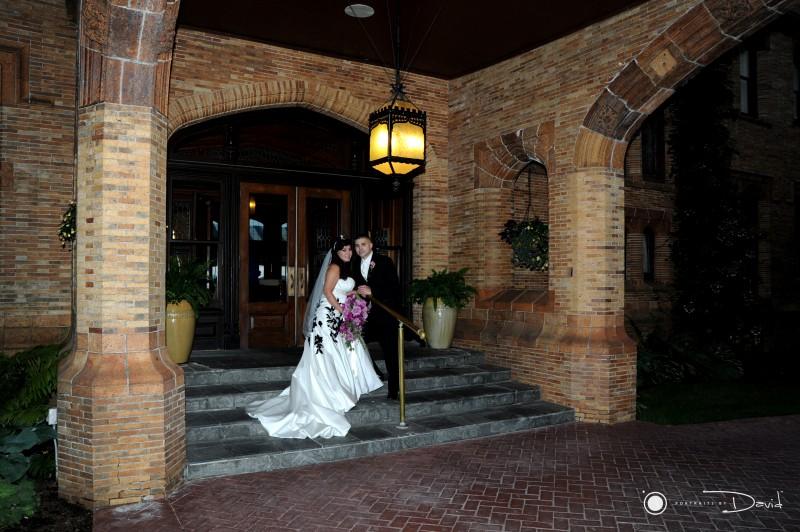 Cranwell Estate wedding photo
