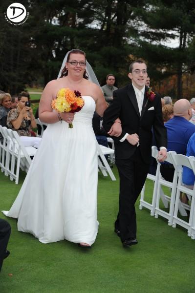 Oak Ridge Country Club Wedding Photo