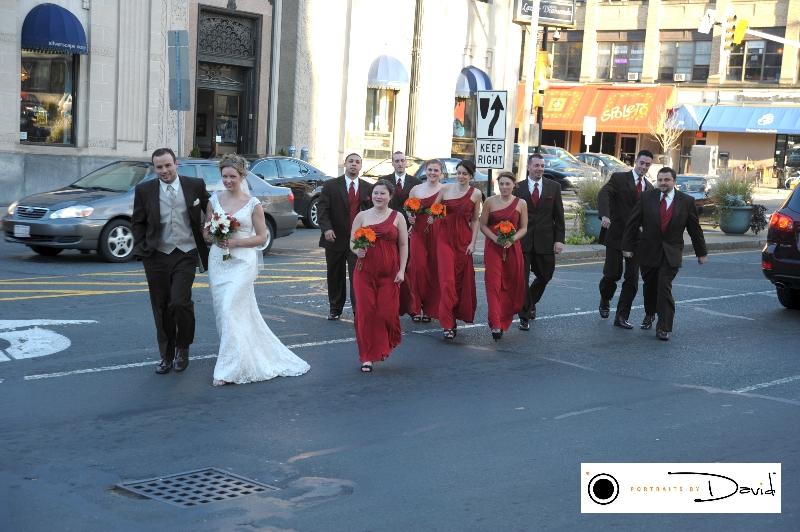 Hotel Northampton wedding photo