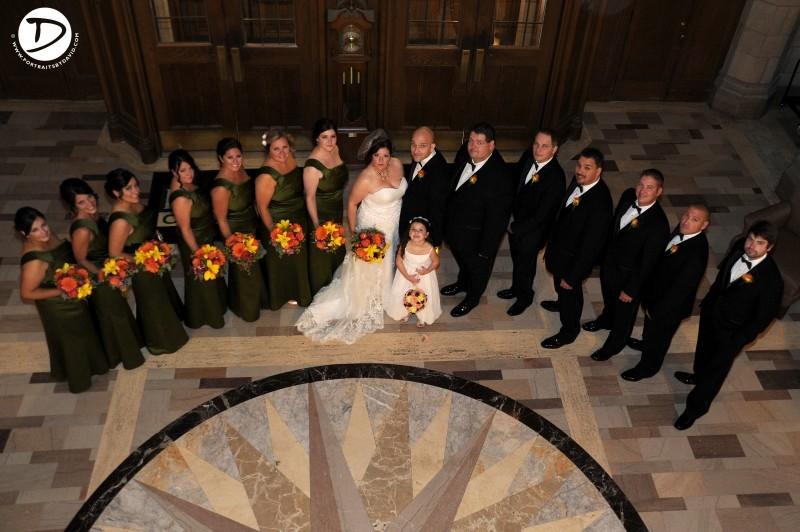 Elms College wedding photo