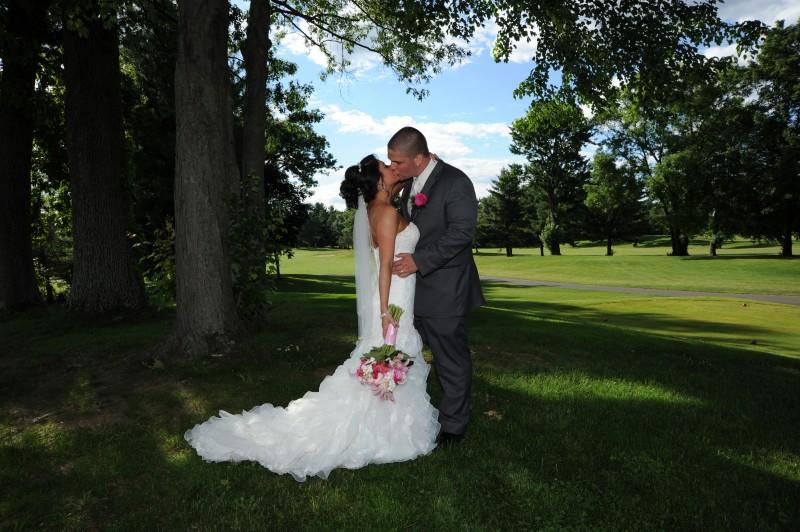 Oak Ridge Golf Club wedding photo