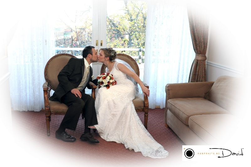 Hotel Northampton wedding photo