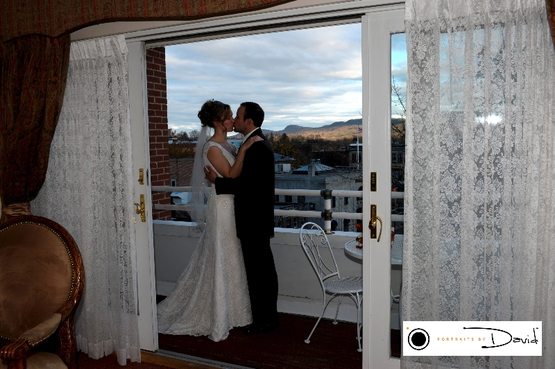 Hotel Northampton wedding photo Western Ma