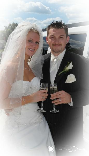 Log Cabin Wedding photo