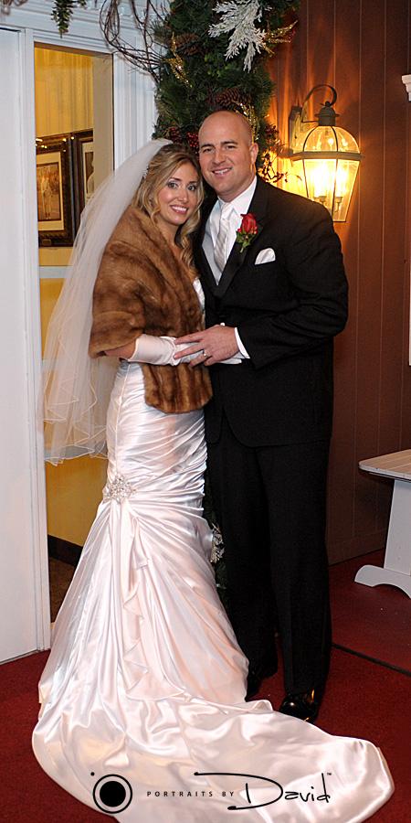 log-cabin-wedding photo